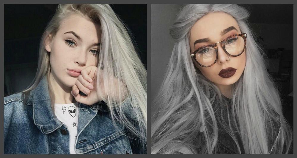 cabelos 2018. cor de cabelo cinza