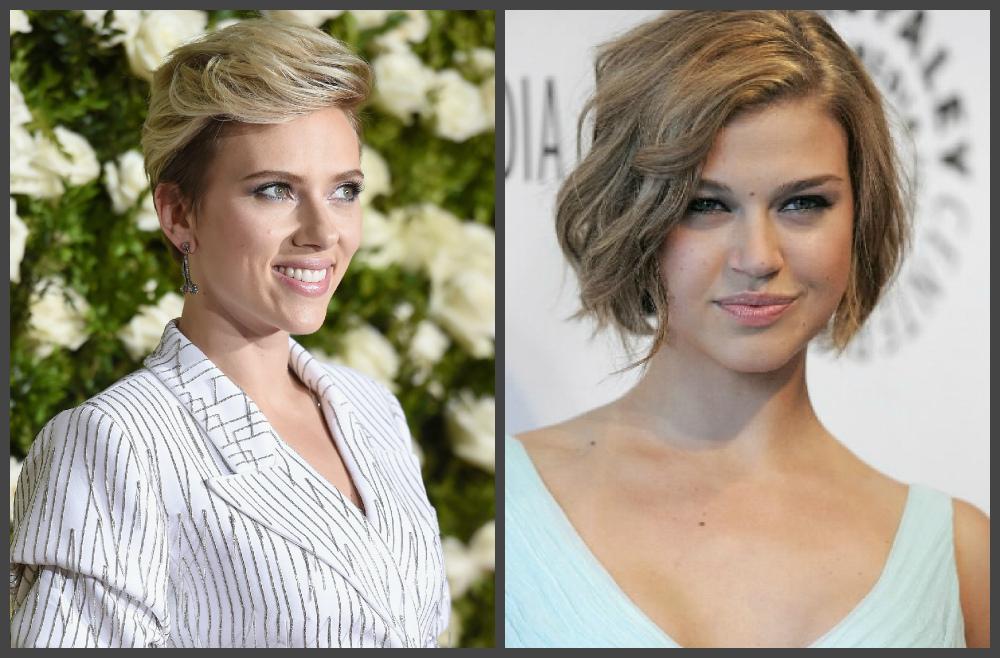 cortes de cabelo curto 2019, cabelo loiro curto