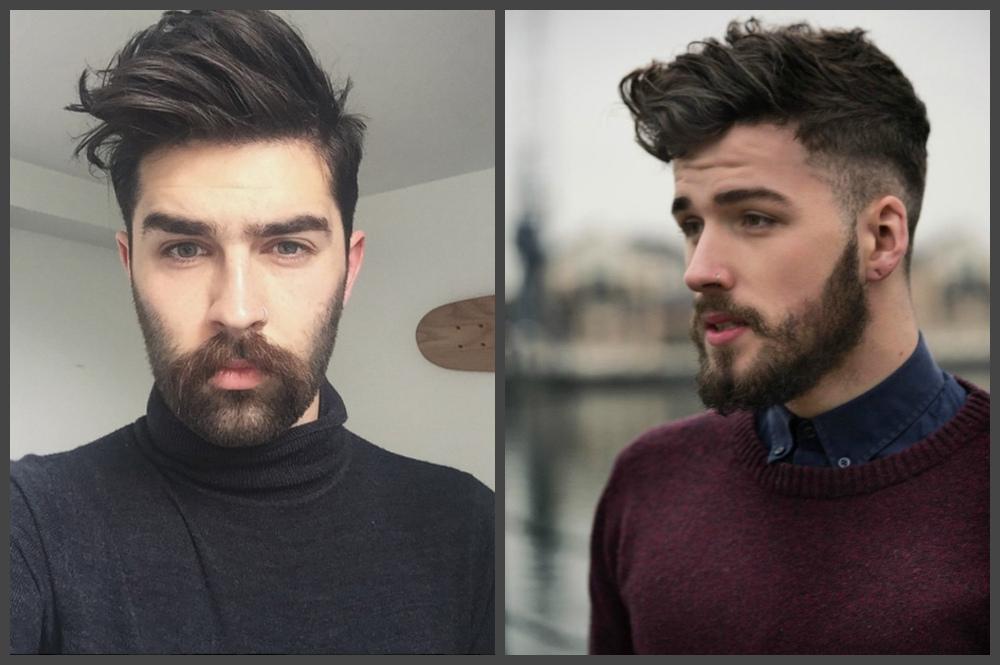 cortes de cabelo masculino 2018, undercut com cabelo volumoso
