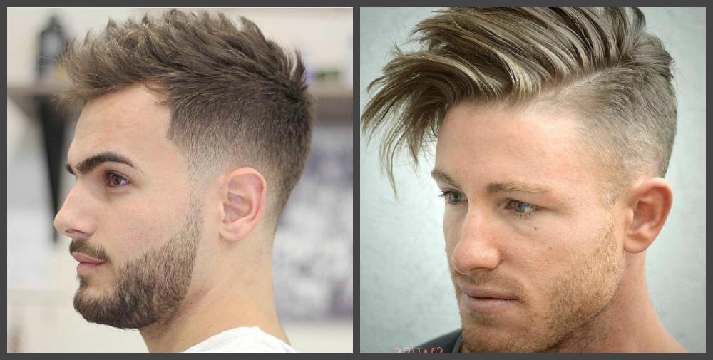 cortes de cabelo masculino 2018, estilo lateral