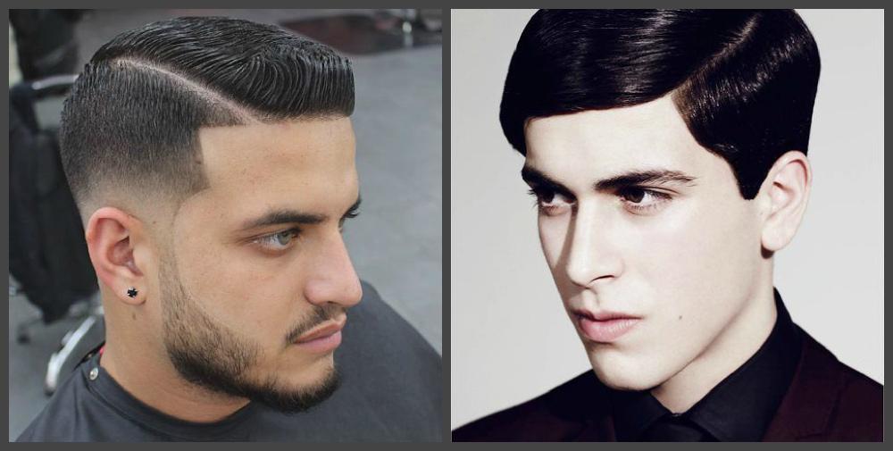 cortes de cabelo masculino curto 2018, risca de lado