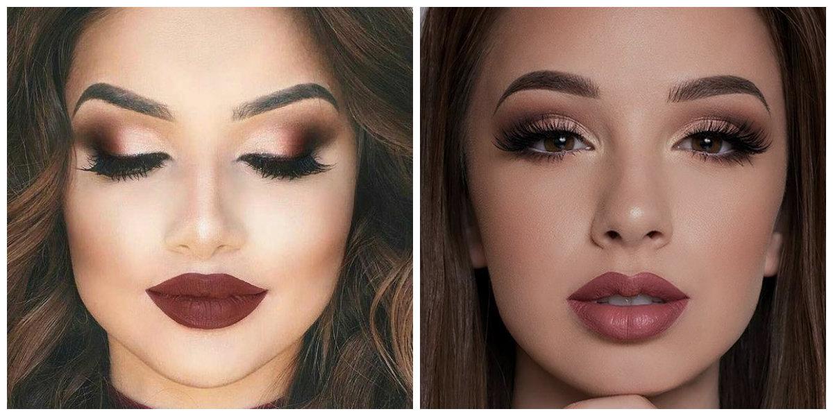 dicas de maquiagem 2019, maquiagem para inverno