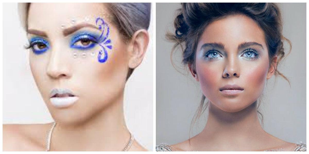 maquiagem 2018, maquiagem semelhante a Rainha de Neve