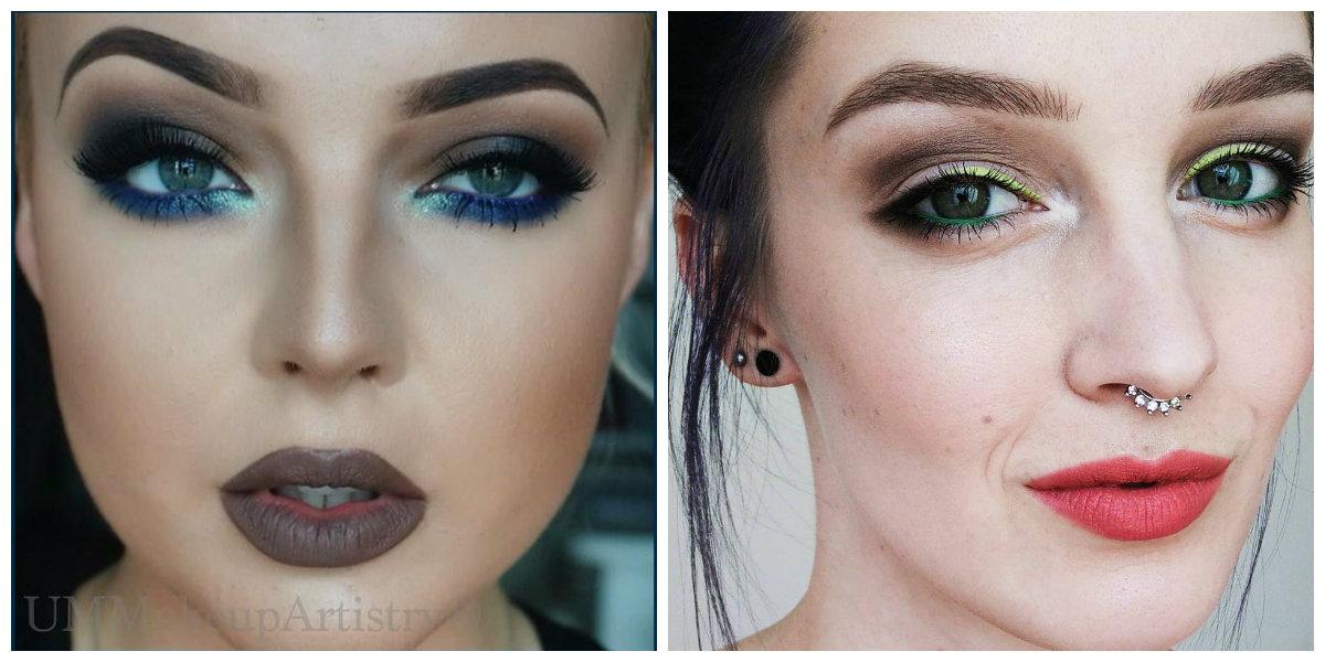 maquiagem 2018, maquiagem de ontem
