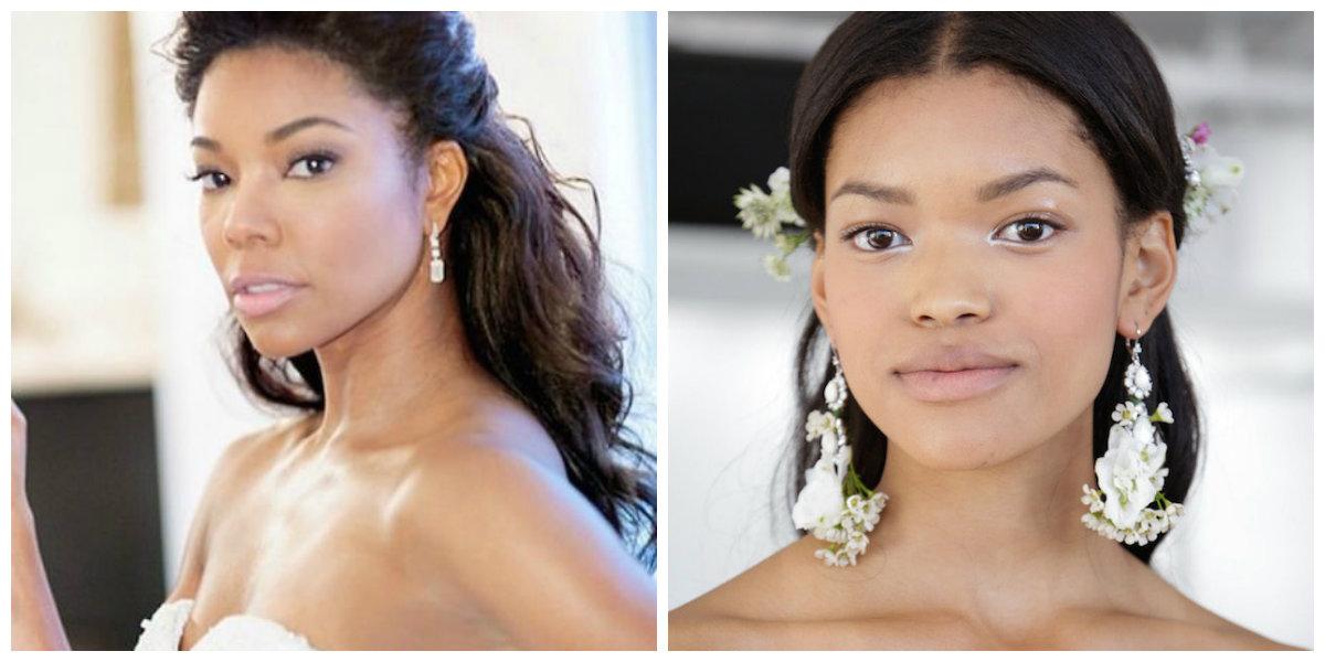 maquiagem para casamento 2019, maquiagem para mulheres escuras