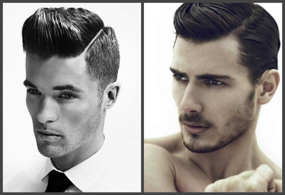 penteados masculinos 2019, estilo retro