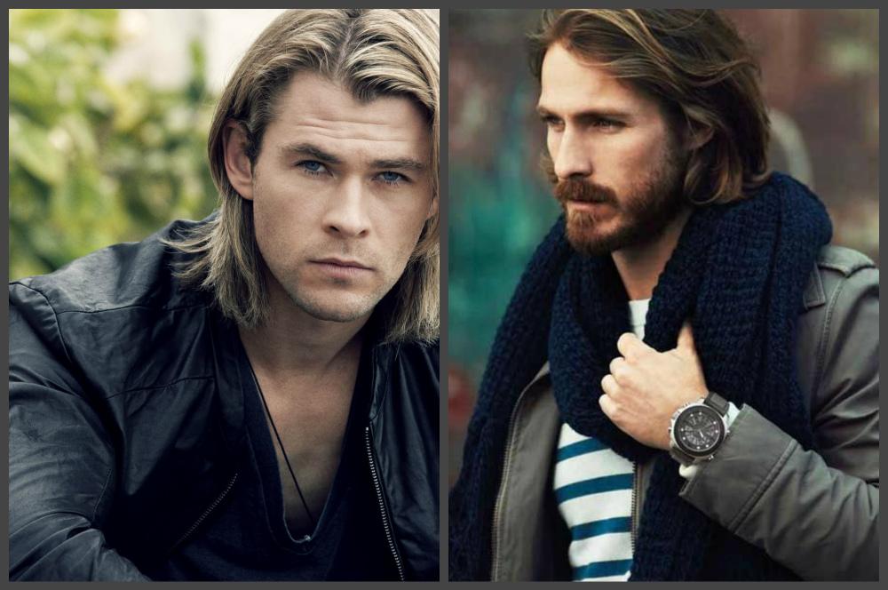 penteados masculinos 2019, cabelo longo