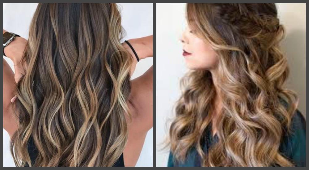 penteados para cabelos longos 2019, cabelo castanho