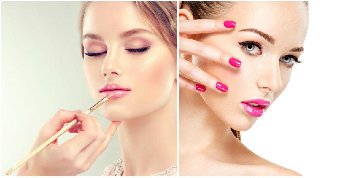 tendências de beleza 2018, maquiagem cor de rosa