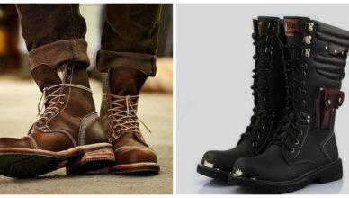 botas masculinas 2018, botas de couro marrom e preto