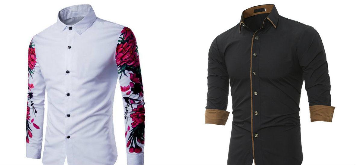camisas masculinas 2019, camisas branca e preta