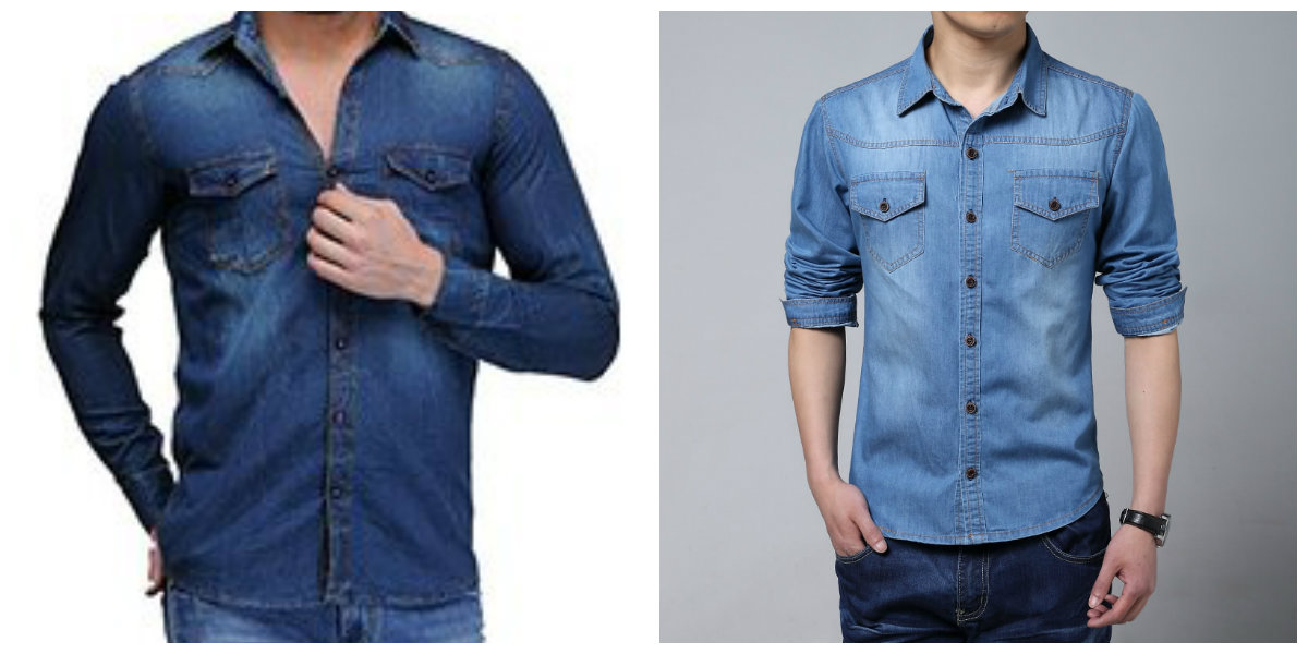 camisas masculinas 2019, camisas masculinas denim