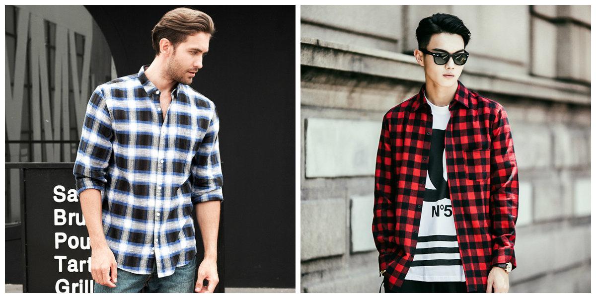 camisas masculinas 2019, camisas de xadrez