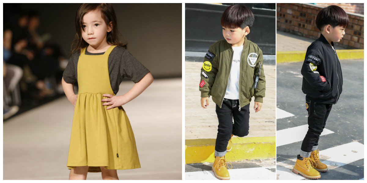 moda infantil 2019, vestido multicamada
