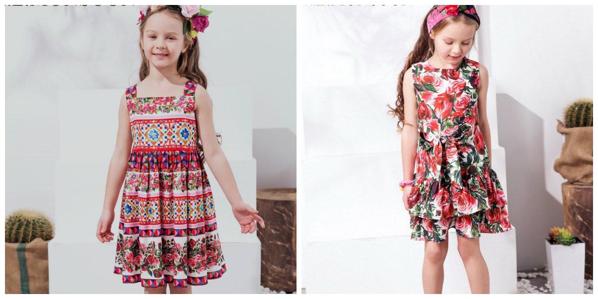 moda infantil 2019, vestidos para meninas