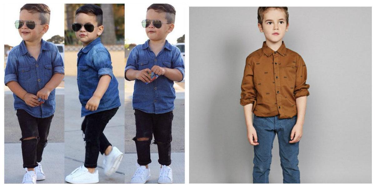 moda infantil 2019, roupa de jeans