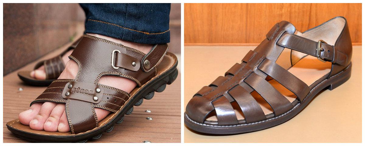 sapatos masculinos 2019, sandalias para homens