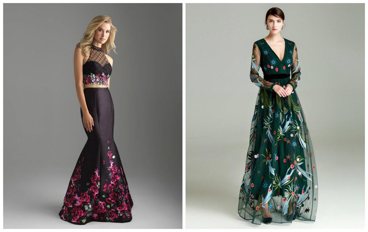 tendências da moda 2018, vestidos bordados