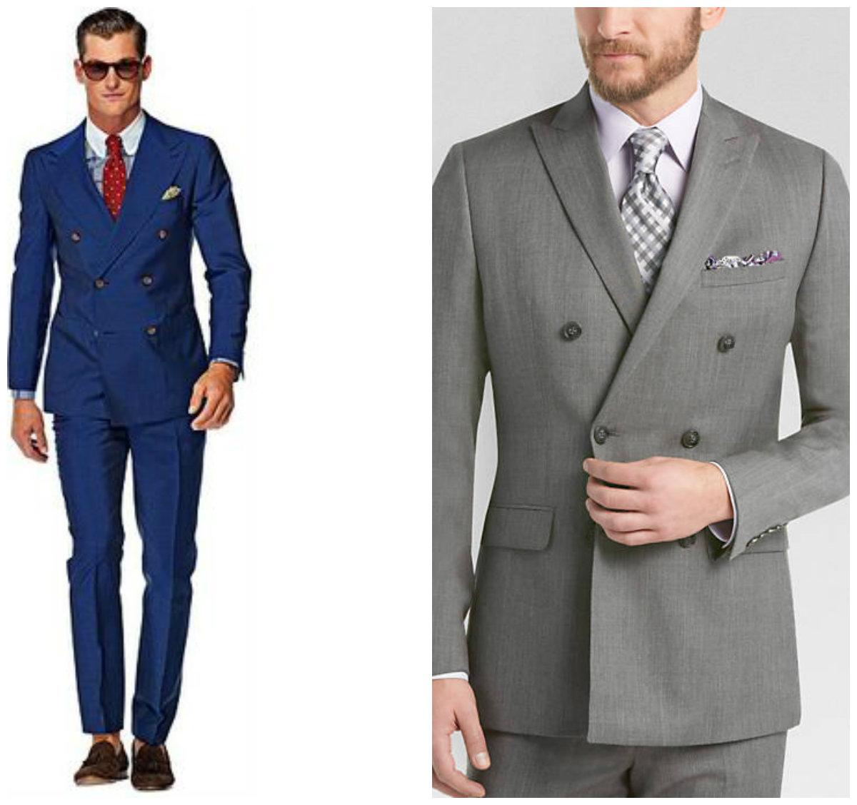 ternos masculinos 2019, ternos de abotamento duplo