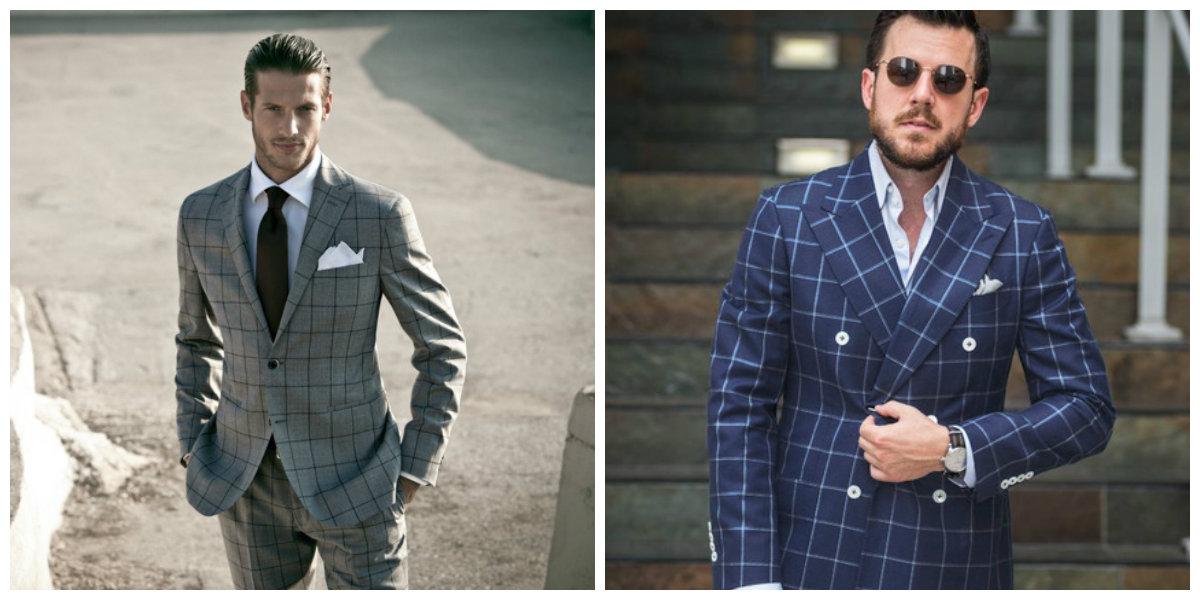 ternos masculinos 2019, ternos de xadrez