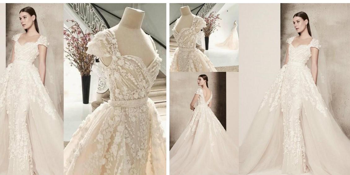 vestido de noiva 2018 , designer Elie Saab