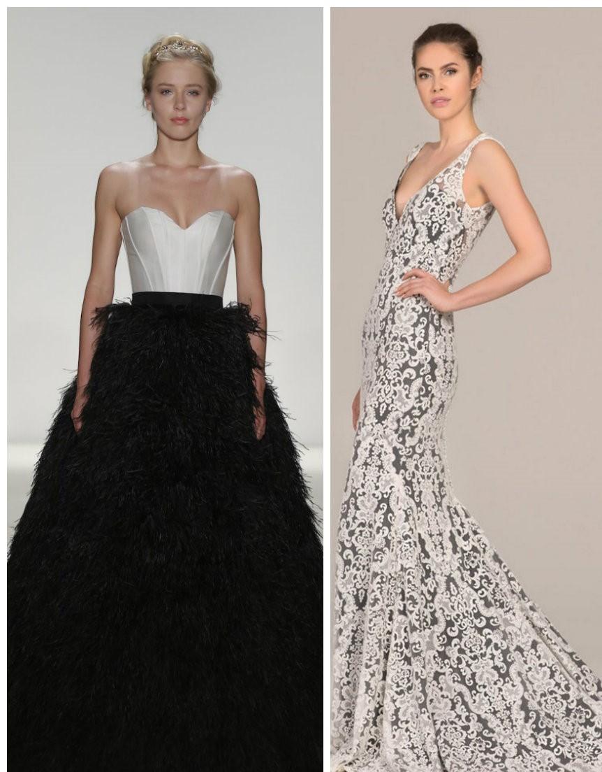 vestido de noiva 2018, vestido preto