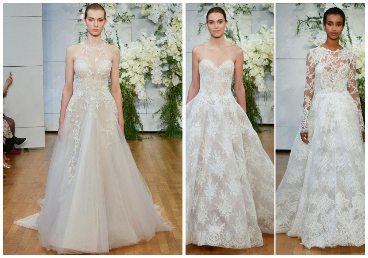 vestido de noiva 2018, vestido de noiva decorado com perolas