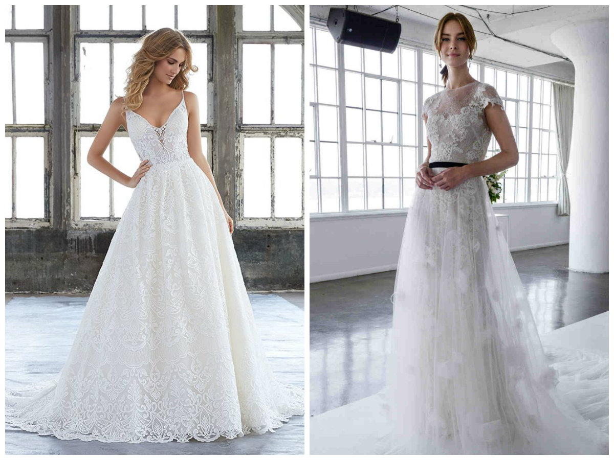 vestido de noiva 2018, desenhado pelo Marchesa