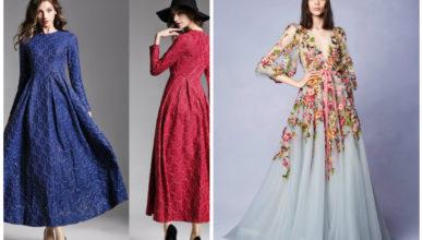 vestidos da moda 2018