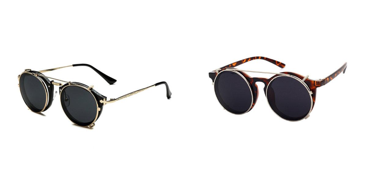 óculos de sol feminino 2019, lences duplos