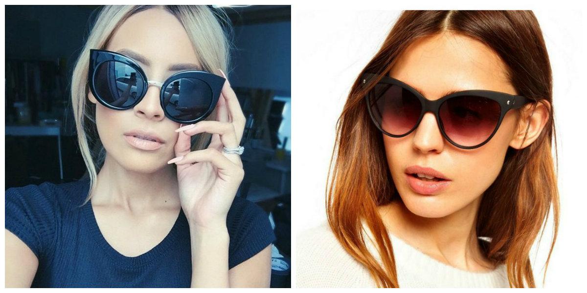 óculos de sol feminino 2019, estilo de olho de gato