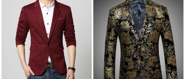 blazer masculino 2018, blazer de cor vermelha, blazer bordado