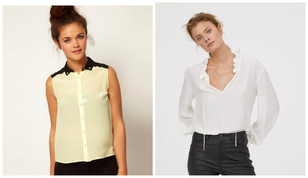 blusas femininas 2019, blusas com ombros alargados