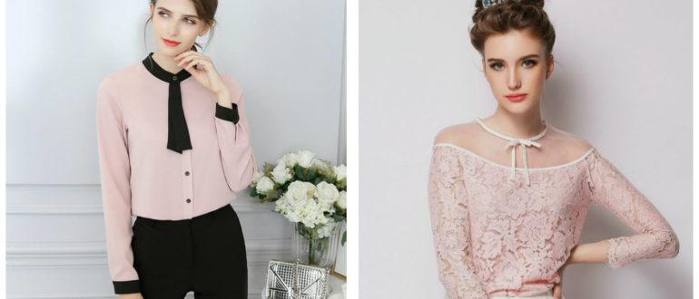 blusas femininas 2018, blusas com pescoco fechado