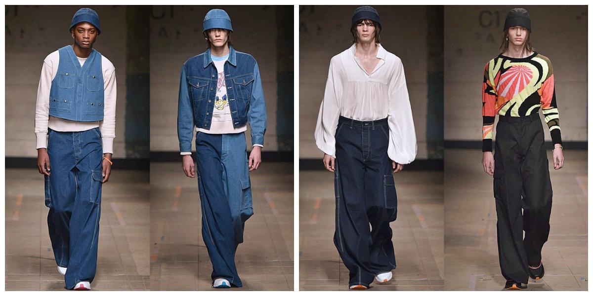 calça jeans masculina 2018, modelo largo