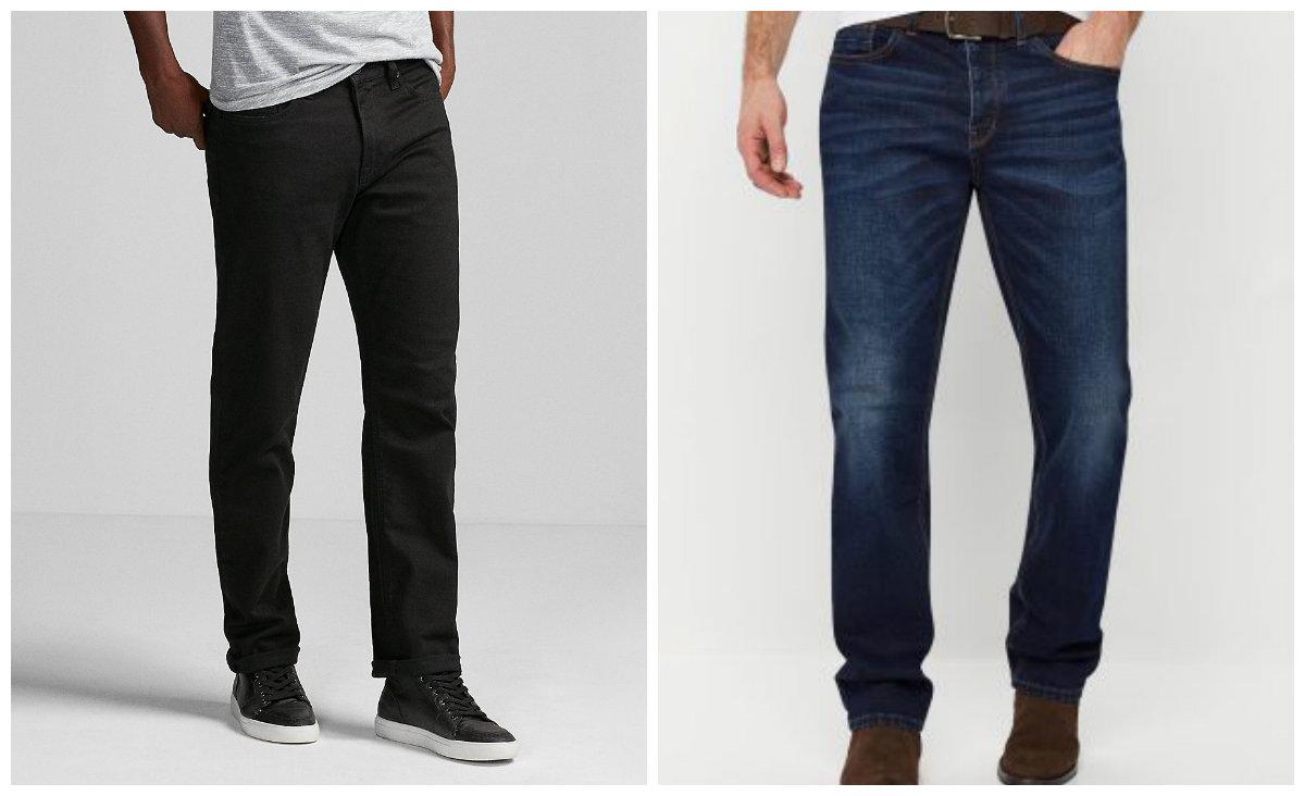 calça jeans masculina 2018, jeans de cor preta e azul