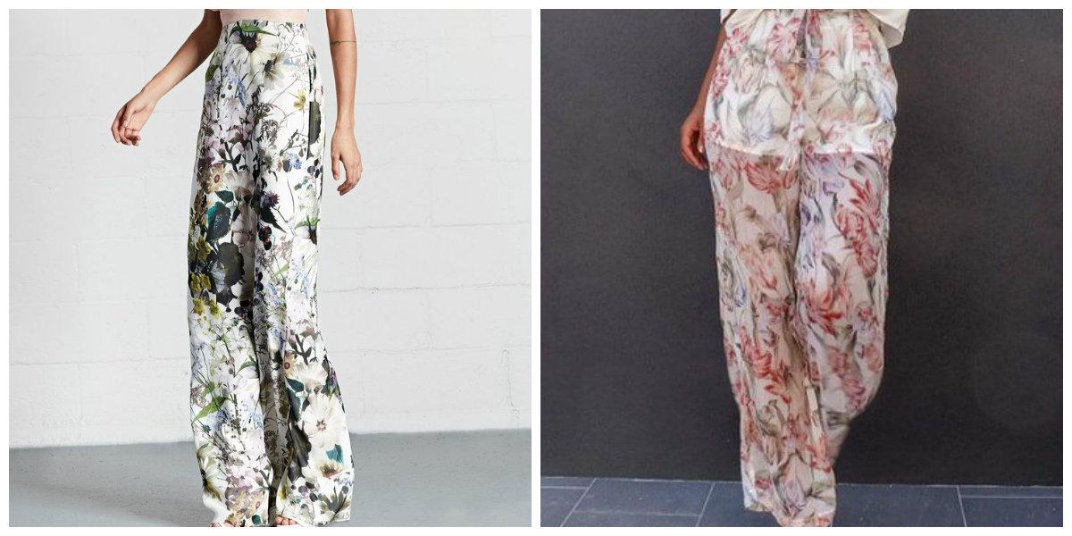 calças femininas 2019, calças femininas com padroes florais