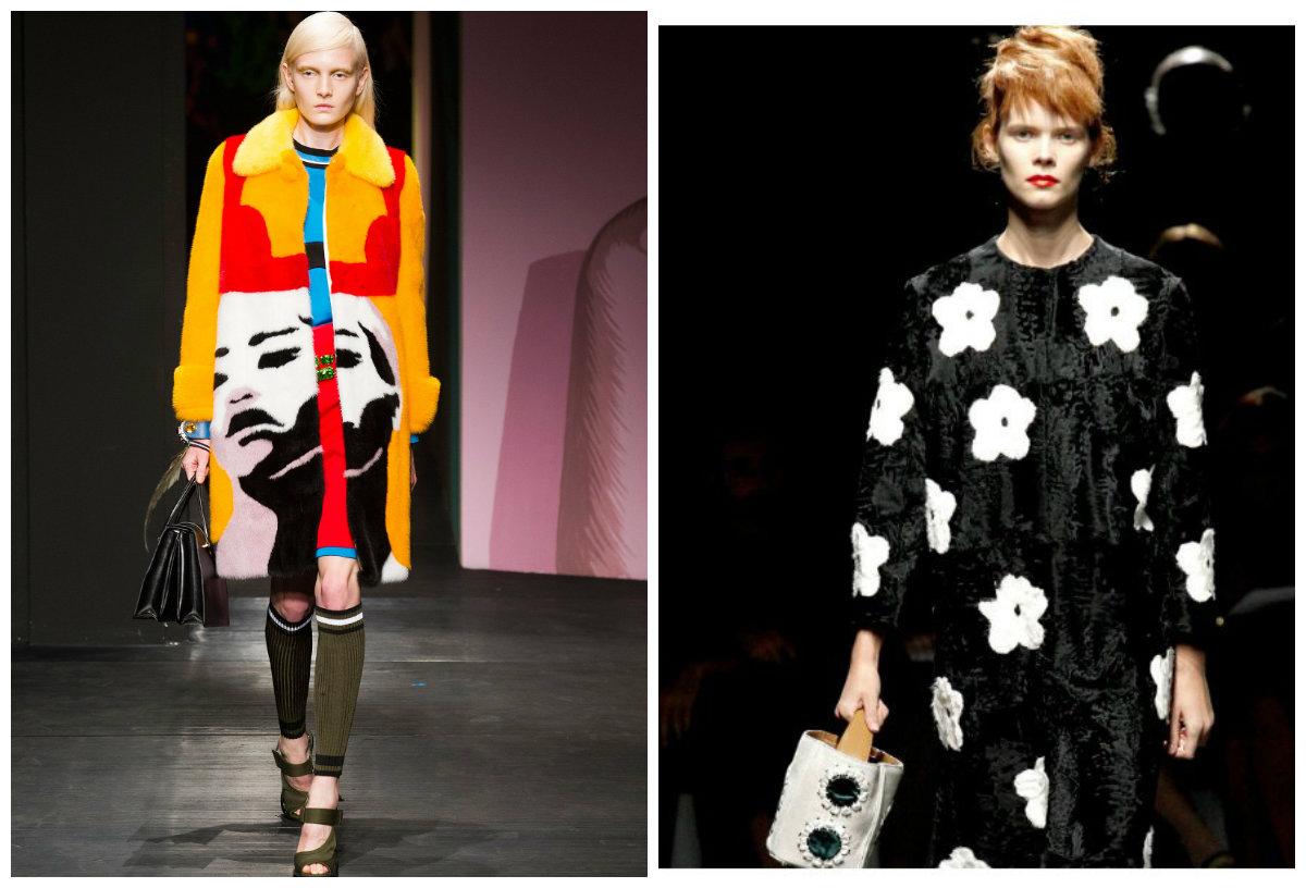 casacos femininos 2018, casacos de pele, designer Prada