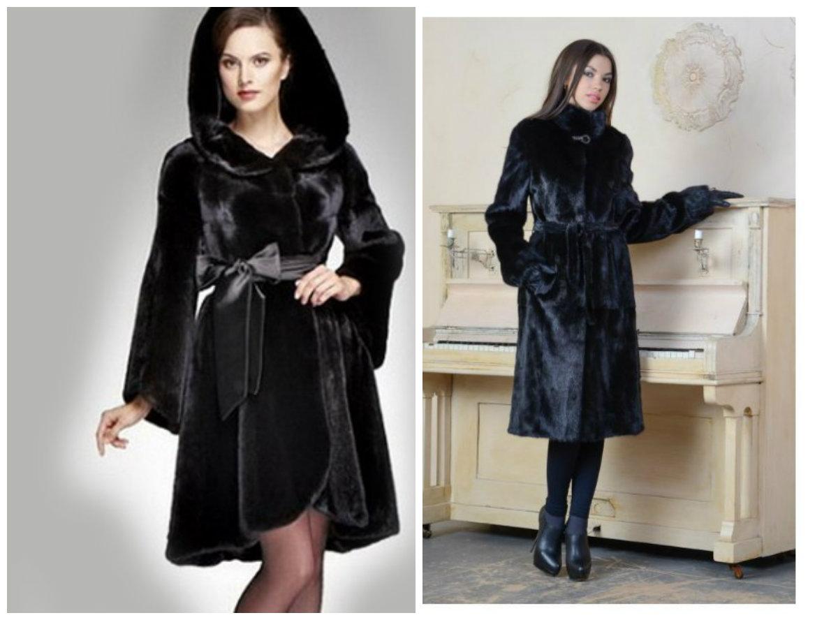 casacos femininos 2018, casacos de pele, modelo trapezio