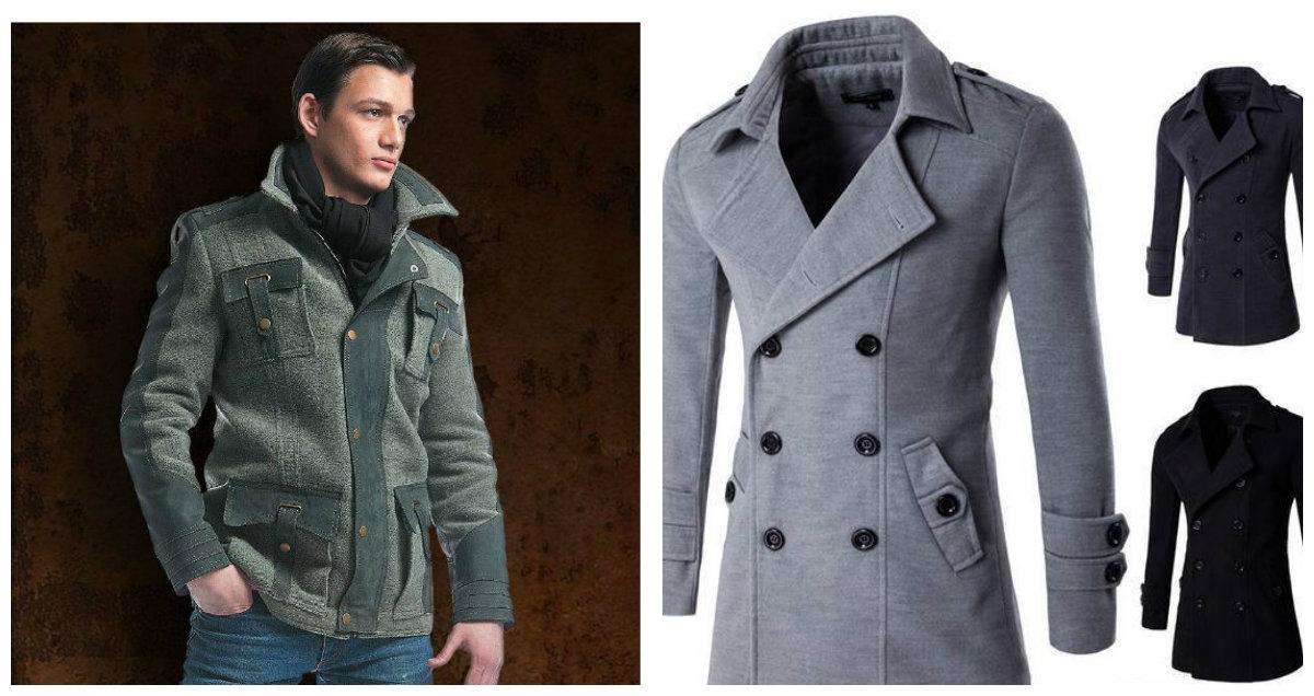 casacos masculinos 2018, casacos de abotamento duplo