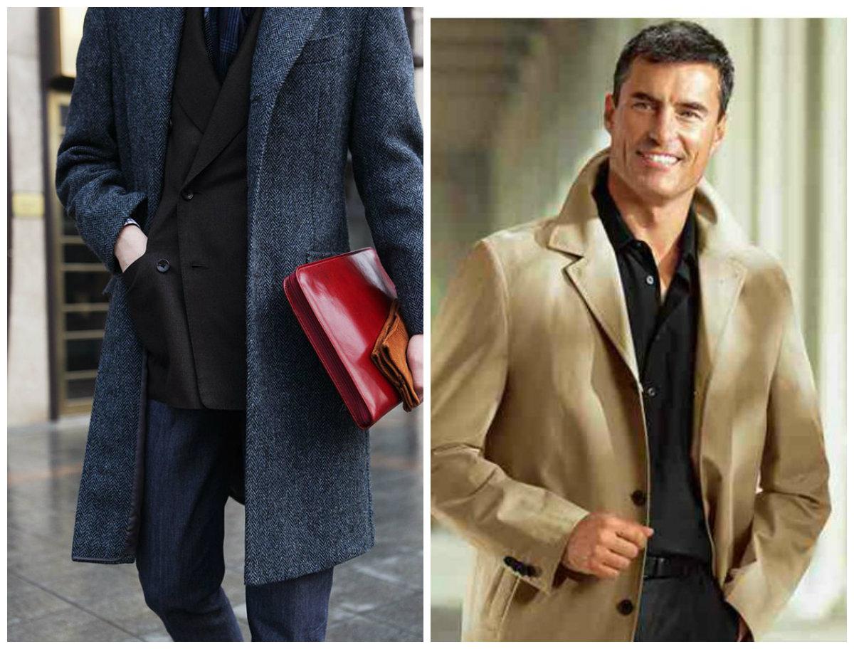 casacos masculinos 2018 , casacos de tweed, cor azul e marrom