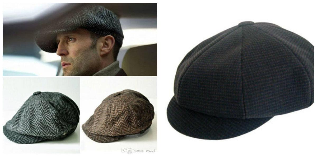 chapéu masculino 2019, bone ingles