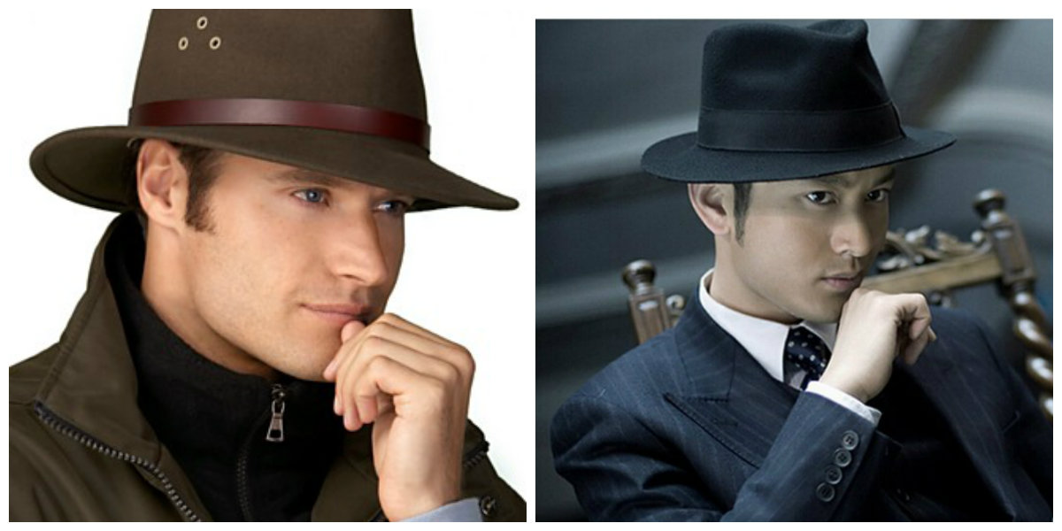 chapéu masculino 2019, estilo Fedora