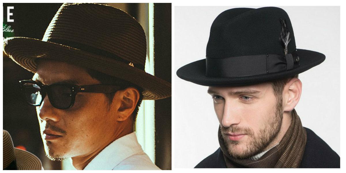 chapéu masculino 2019, chapeus de cor marrom e preto