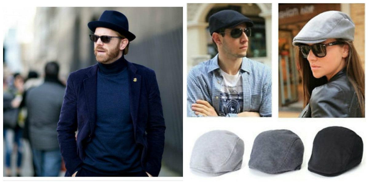 chapéu masculino 2019, chapeu de cor azul