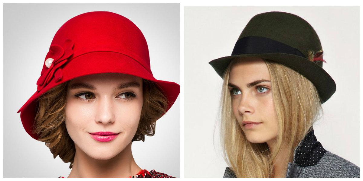 chapéus femininos 2019, chapéus modernos de cor preta e vermelha