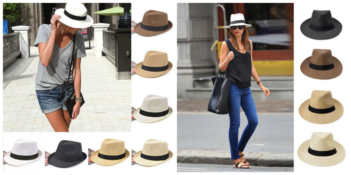 chapéus femininos 2019, chapéus para mulheres Panama