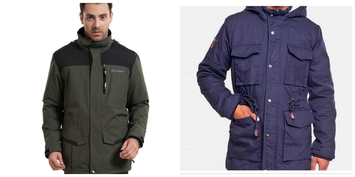 jaquetas masculinas 2018, jacketas de inverno, estilo Parka