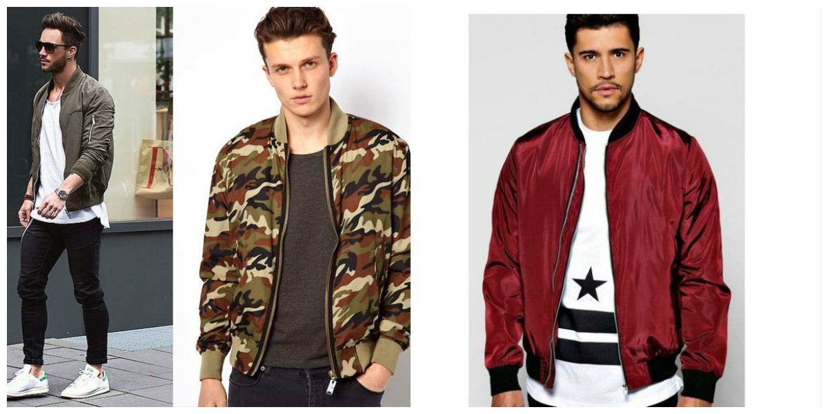 jaquetas masculinas 2018, jacketas de estilo Bomber