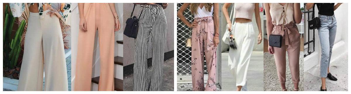 moda feminina 2019, calcas de verao